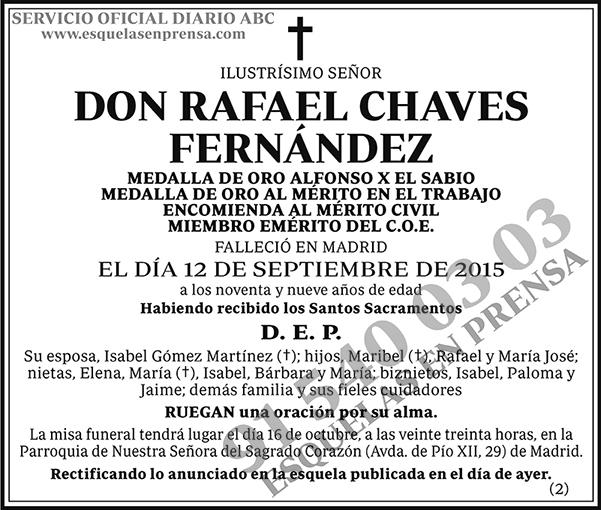 Rafael Chaves Fernández